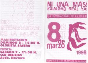8 de marzo 1998 a