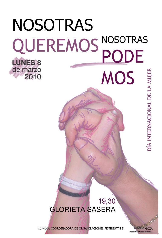 cartel mujer.8 de marzo-2010